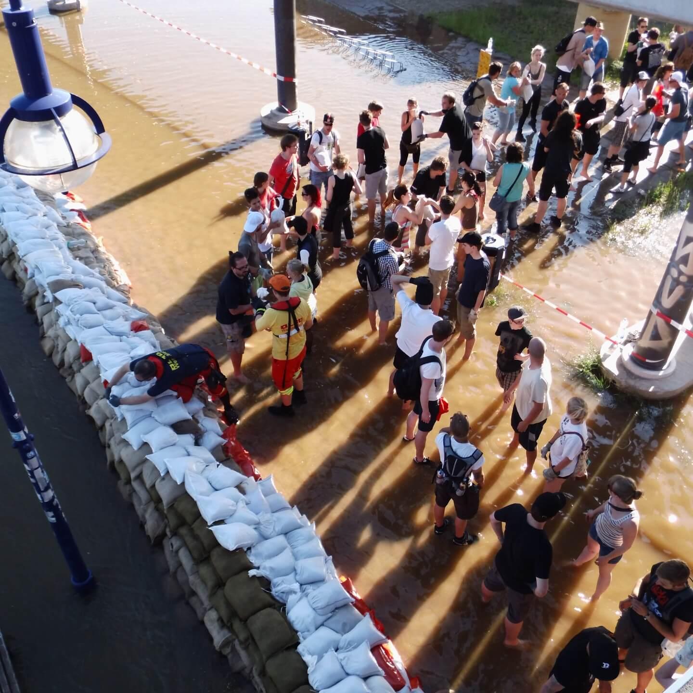 Holger Stahlknecht - Erinnerung an das Hochwasser 2013