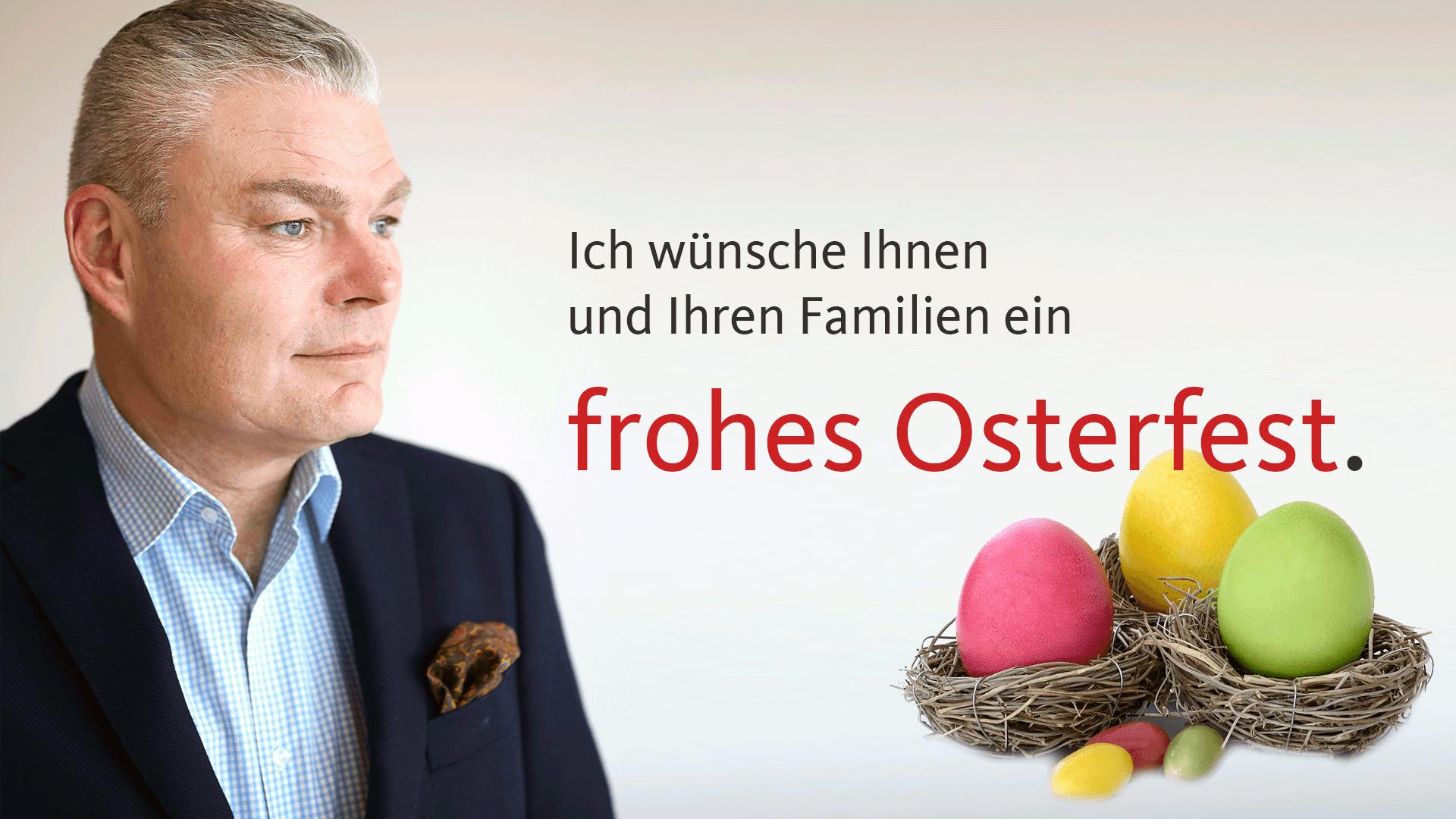 Osterbotschaft von Holger Stahlknecht (CDU)