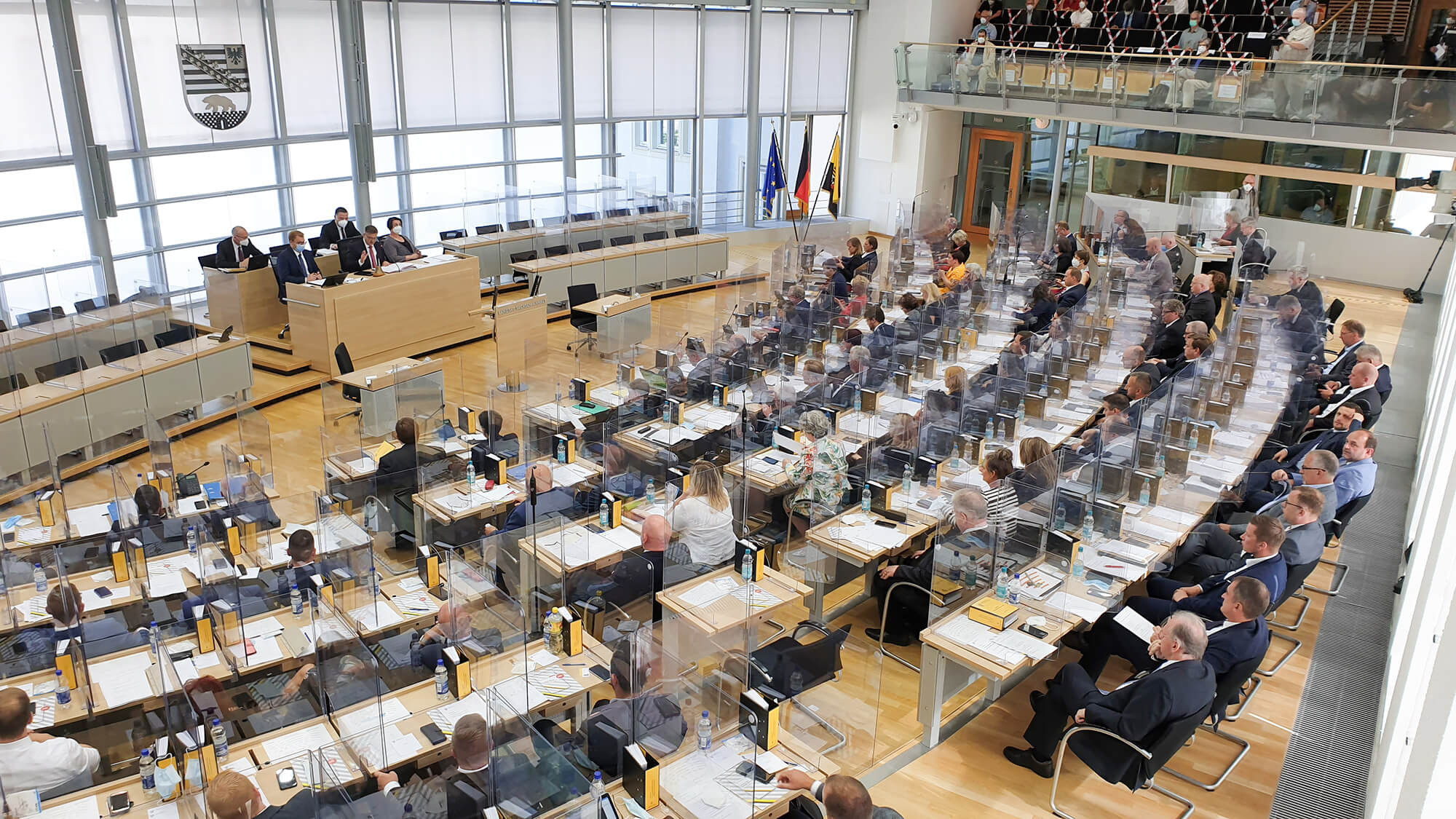 Plenum des Landtags Sachsen-Anhalt