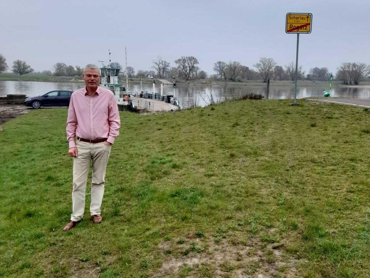 Holger Stahlknecht - Wahlreise durch die Verbandsgemeinde Elbe-Heide